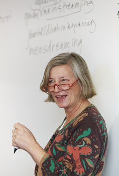 Gertrud Åström Seminarium om jämställdhet, ACC Västerås