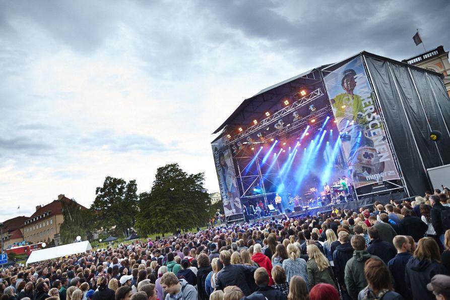 Västerås Cityfestival har dragit igång