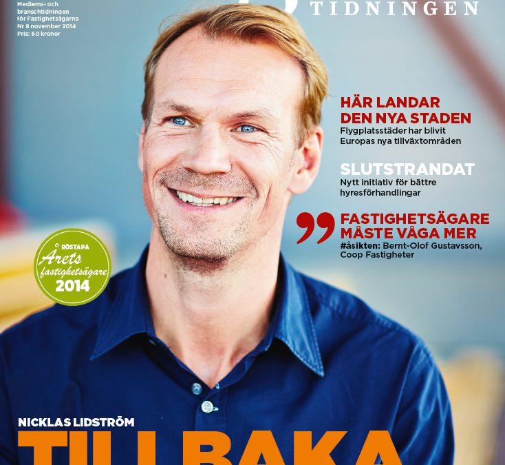 Nicklas Lidström satsar på Fastigheter i Västerås