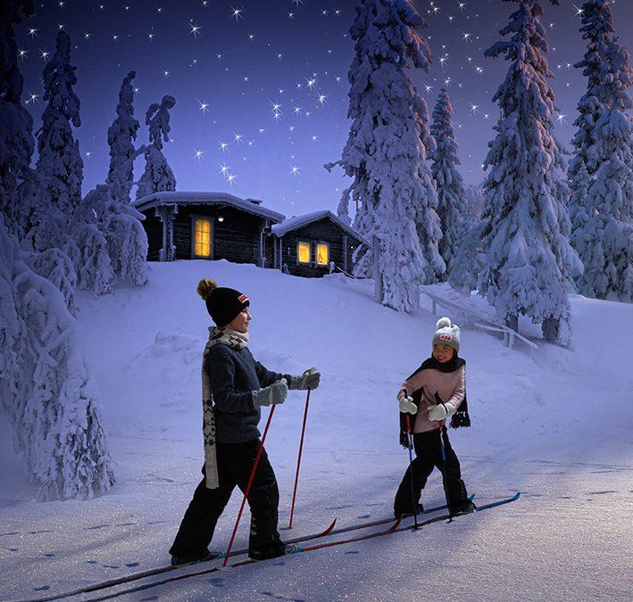 God Jul! Se hur vi löste ABB:s julkort för i år.
