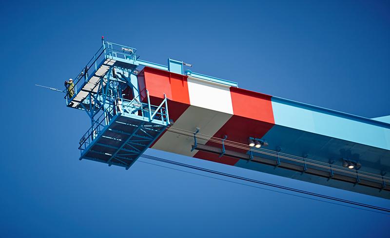 ABB, Crane, Rotterdam
