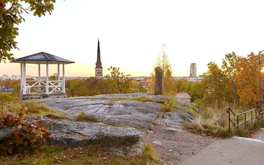 Härlig höstdagar i Västerås med fint fotoljus