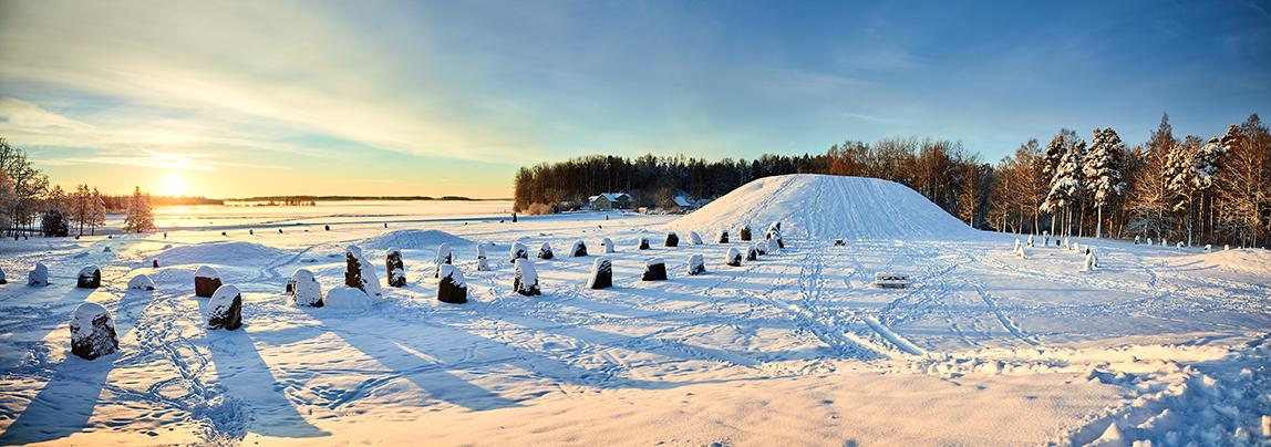 Avundshög, vinter, viking, Västerås