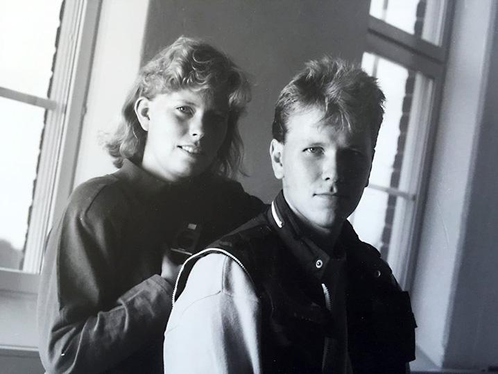 Pia, Hans, Nordlander, bildN, Västerås, Sigurdsgatan, Gjuteriet, 90-tal