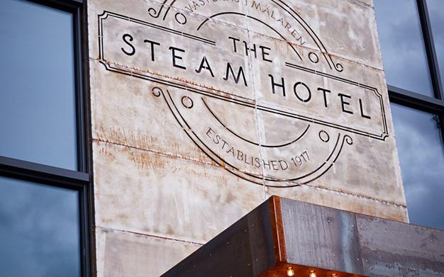 Steam Hotel i Västerås, nyöppnat