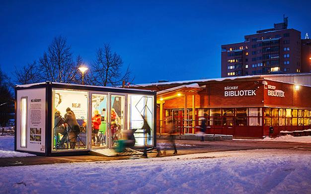 Bäckbyprojektet, Västerås, Bäckby, Centrum