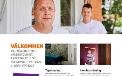 Aros Måleri har skapat en ny hemsida med våra bilder