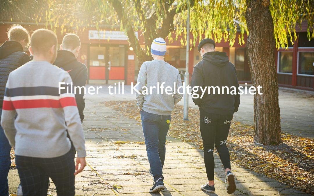 Filmer till Karlfeldtgymnasiet i Avesta